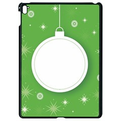Christmas Bauble Ball Apple Ipad Pro 9 7   Black Seamless Case by BangZart