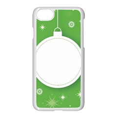 Christmas Bauble Ball Apple Iphone 8 Seamless Case (white) by BangZart