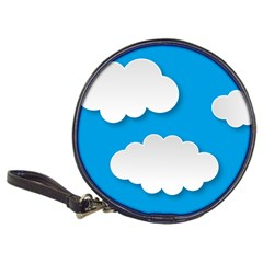Clouds Sky Background Comic Classic 20 Cd Wallets
