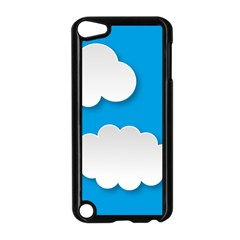 Clouds Sky Background Comic Apple Ipod Touch 5 Case (black) by BangZart