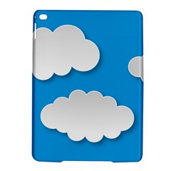 Clouds Sky Background Comic Ipad Air 2 Hardshell Cases