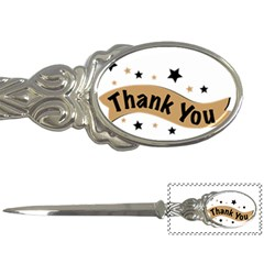 Thank You Lettering Thank You Ornament Banner Letter Openers by BangZart