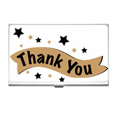 Thank You Lettering Thank You Ornament Banner Business Card Holders by BangZart