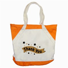 Thank You Lettering Thank You Ornament Banner Accent Tote Bag by BangZart