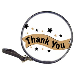 Thank You Lettering Thank You Ornament Banner Classic 20 Cd Wallets