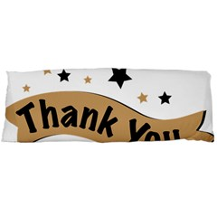 Thank You Lettering Thank You Ornament Banner Body Pillow Case Dakimakura (two Sides)