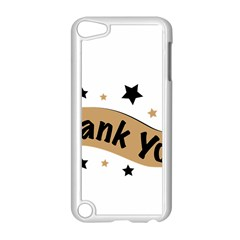 Thank You Lettering Thank You Ornament Banner Apple Ipod Touch 5 Case (white)