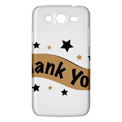 Thank You Lettering Thank You Ornament Banner Samsung Galaxy Mega 5 8 I9152 Hardshell Case