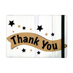 Thank You Lettering Thank You Ornament Banner Ipad Mini 2 Flip Cases by BangZart