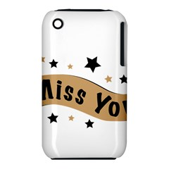 Lettering Miss You Banner Iphone 3s/3gs