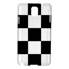 Grid Domino Bank And Black Samsung Galaxy Note 3 N9005 Hardshell Case