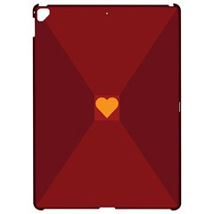 Heart Red Yellow Love Card Design Apple Ipad Pro 12 9   Hardshell Case by BangZart