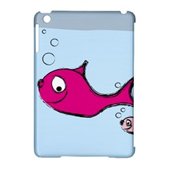 Fish Swarm Meeresbewohner Creature Apple Ipad Mini Hardshell Case (compatible With Smart Cover) by BangZart