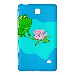 Frog Flower Lilypad Lily Pad Water Samsung Galaxy Tab 4 (8 ) Hardshell Case