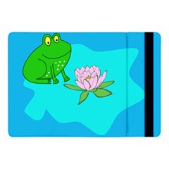 Frog Flower Lilypad Lily Pad Water Apple Ipad Pro 10 5   Flip Case by BangZart