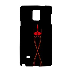 Ship Space Spaceship Samsung Galaxy Note 4 Hardshell Case