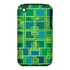 Green Abstract Geometric Iphone 3s/3gs