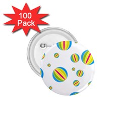 Balloon Ball District Colorful 1 75  Buttons (100 Pack)