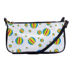 Balloon Ball District Colorful Shoulder Clutch Bags by BangZart