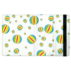 Balloon Ball District Colorful Apple Ipad 2 Flip Case