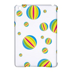 Balloon Ball District Colorful Apple Ipad Mini Hardshell Case (compatible With Smart Cover)