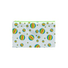 Balloon Ball District Colorful Cosmetic Bag (xs)