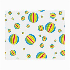 Balloon Ball District Colorful Small Glasses Cloth