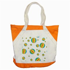 Balloon Ball District Colorful Accent Tote Bag