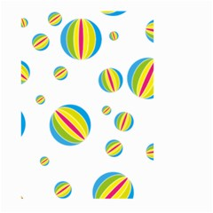 Balloon Ball District Colorful Small Garden Flag (two Sides) by BangZart