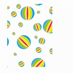 Balloon Ball District Colorful Large Garden Flag (two Sides) by BangZart