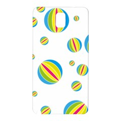 Balloon Ball District Colorful Samsung Galaxy Note 3 N9005 Hardshell Back Case