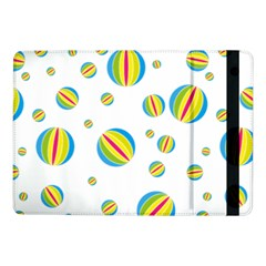 Balloon Ball District Colorful Samsung Galaxy Tab Pro 10 1  Flip Case by BangZart