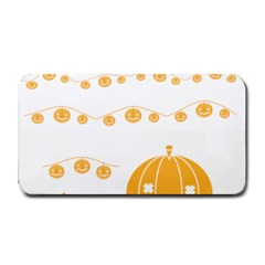 Pumpkin Halloween Deco Garland Medium Bar Mats