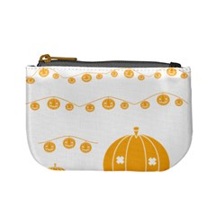 Pumpkin Halloween Deco Garland Mini Coin Purses