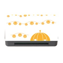 Pumpkin Halloween Deco Garland Memory Card Reader With Cf by BangZart