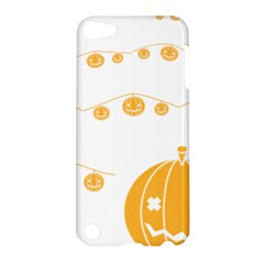 Pumpkin Halloween Deco Garland Apple Ipod Touch 5 Hardshell Case by BangZart