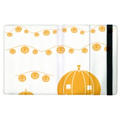 Pumpkin Halloween Deco Garland Apple Ipad 3/4 Flip Case by BangZart