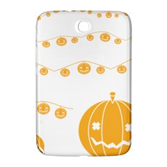 Pumpkin Halloween Deco Garland Samsung Galaxy Note 8 0 N5100 Hardshell Case