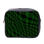 Pattern Dark Texture Background Mini Toiletries Bag 2-Side Front