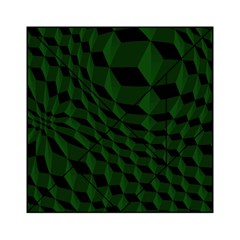 Pattern Dark Texture Background Acrylic Tangram Puzzle (6  X 6 )