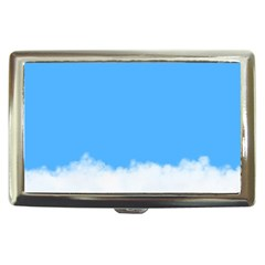 Sky Blue Blue Sky Clouds Day Cigarette Money Cases by BangZart