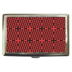 Abstract Background Red Black Cigarette Money Cases
