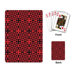 Abstract Background Red Black Playing Card