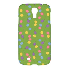 Balloon Grass Party Green Purple Samsung Galaxy S4 I9500/i9505 Hardshell Case