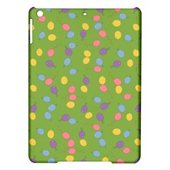 Balloon Grass Party Green Purple Ipad Air Hardshell Cases by BangZart
