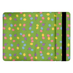 Balloon Grass Party Green Purple Samsung Galaxy Tab Pro 12 2  Flip Case