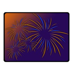 Sylvester New Year S Day Year Party Fleece Blanket (small) by BangZart