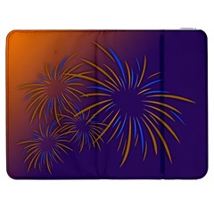 Sylvester New Year S Day Year Party Samsung Galaxy Tab 7  P1000 Flip Case
