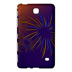 Sylvester New Year S Day Year Party Samsung Galaxy Tab 4 (7 ) Hardshell Case