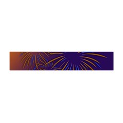 Sylvester New Year S Day Year Party Flano Scarf (mini)
